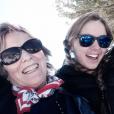 Saoirse Hill et sa mère Courtney Kennedy, 20 mars 2015