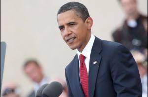 Quand Barack Obama se fait couper la parole par... un canard ! Regardez !
