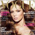 Cheryl Cole, en couverture de Vogue !