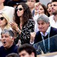 Maria Isabel Nadal (soeur de Rafael Nadal), Xisca Perello - People dans les tribunes lors de la finale messieurs des internationaux de France de tennis de Roland Garros 2019 à Paris le 9 juin 2019. © JB Autissier/Panoramic/Bestimage