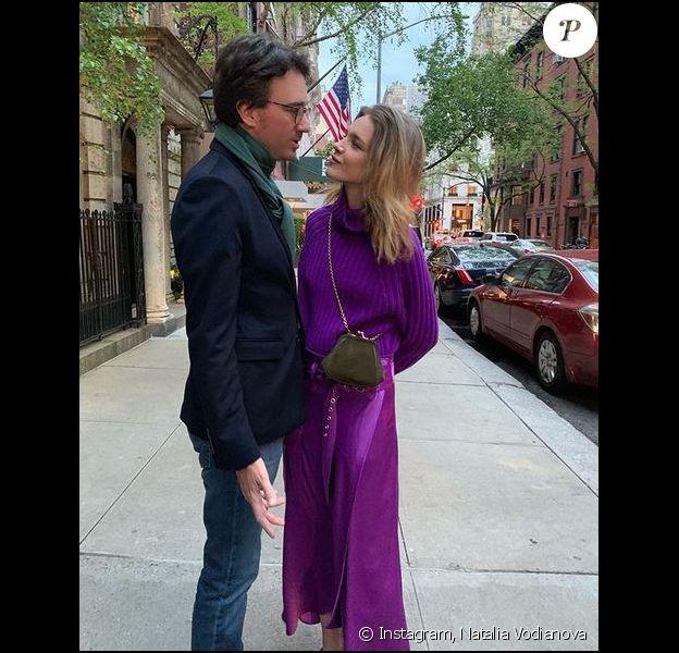 Antoine Arnault et Natalia Vodianova à New York. Mai 2019.