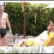 Le footballeur espagnol Andrés Iniesta découvre les joies du farniente avec sa superbe femme !