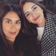 """Wafa et Jade de """"Koh-Lanta"""" complices, le 6 décembre 2018"""