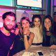 "Wafa de ""Koh-Lanta"" avec Jade, Jesta et Benoît, Instagram, le 13 novembre 2016"