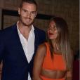 """Wafa de """"Koh-Lanta"""" et son compagnon Oliver à Saint-Tropez, le 6 août 2019"""
