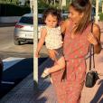 Wafa et sa fille de 1 an Jenna, le 15 juin 2019, sur Instagram