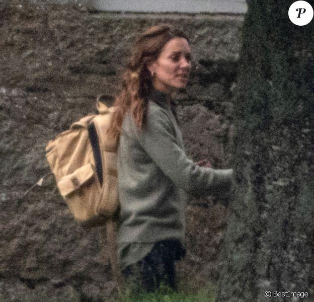 Catherine Kate Middleton, duchesse de Cambridge - Les membres de la famille royale du Royaume Uni arrivent à un déjeuner privé, loin du protocole, près de Loch Muick en Ecosse le 23 août 2019.
