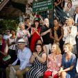 """150 Ecrivains pour la 2ème édition du salon littéraire """" Les Ecrivains Chez Gonzague Saint Bris """" à Chanceaux-près-Loches. Le 25 août 2019. © Cedric Perrin / Bestimage."""