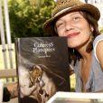 """Dorothy Shoes ( Eglantine Le Coz ) - 2ème édition du salon littéraire """" Les Ecrivains Chez Gonzague Saint Bris """" à Chanceaux-près-Loches. Le 25 août 2019. © Cedric Perrin / Bestimage."""