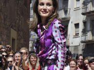 Letizia d'Espagne et son époux plus complices que jamais, et accueillis en stars !