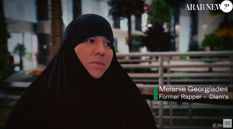Diam's, de son vrai nom Mélanie Georgiades, donne de ses nouvelles en août 2019 à Arab News.