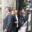 Elie Semoun en grande fo-forme au mariage de Franck Dubosc et Danièle le 19 juin 2009