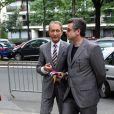 C'est Bertrand Delanoë qui a recueilli le consentement de Franck et Danièle...