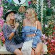 Elsa Dasc et sa soeur Leslie, sur Instagram, le 10 août 2019