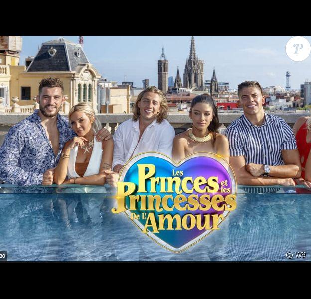 """Logo des """"Princes de l'amour 6"""", sur W9"""