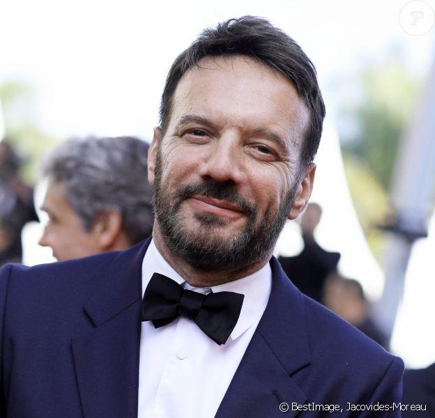 """Samuel Le Bihan - Montée des marches du film """"Le Traitre (Il Traditore)"""" lors du 72ème Festival International du Film de Cannes. Le 23 mai 2019 © Jacovides-Moreau / Bestimage"""