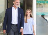 Felipe VI d'Espagne: Seul avec sa fille Sofia à l'hôpital, pour ménager son père