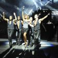 Cathy Guetta, superbe maîtresse de cérémonie lors de la soirée Unighted samedi 4 juillet au Stade de France