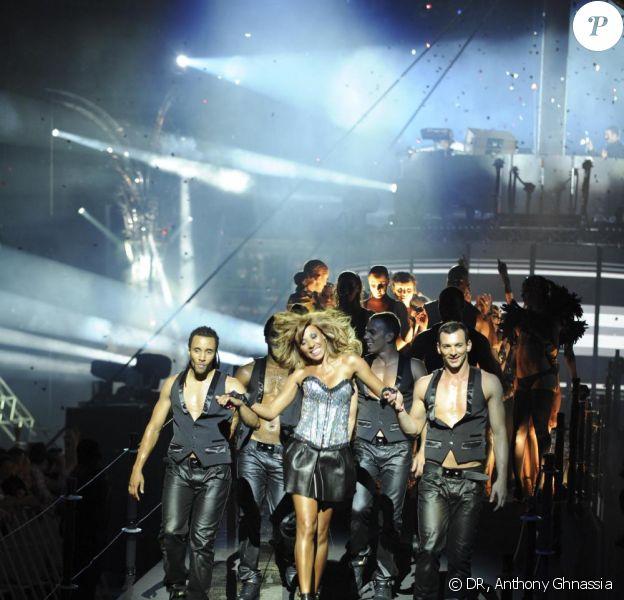Cathy Guetta lors de la soirée Unighted samedi 4 juillet au Stade de France