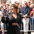 Tracey Emin - Les invités arrivent au mariage de E. Goulding et C. Jopling en la cathédrale d'York, le 31 août 2019