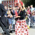 Harry Wentworth-Stanley et sa fiancée Cressida Bonas - Les invités arrivent au mariage de E. Goulding et C.Jopling en la cathédrale d'York, le 31 août 2019