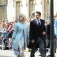 Katy Perry et son fiancé Orlando Bloom - Les invités arrivent au mariage de E. Goulding et C.Jopling en la cathédrale d'York, le 31 août 2019