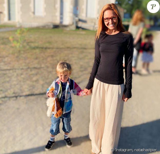 Natasha St Pier Son Fils Bixente Fait Sa Rentree La Star A Peur Purepeople