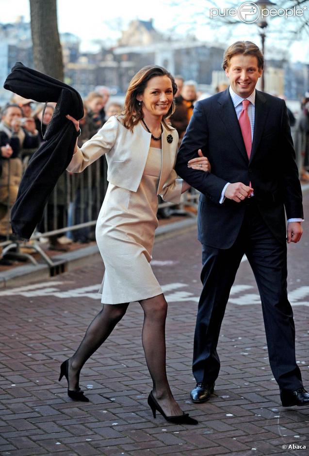 Le prince Floris et la princesse Aimée d'Orange-Nassau van Vollenhoven ont accueilli leur deuxième petite fille, Eliane, le 5 juillet 2009