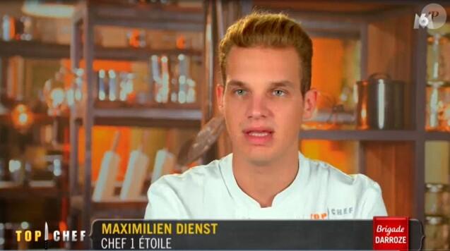 """Maximilien Dienst en salle d'interview - """"Top Chef 2017"""", M6, mercredi 22 février 2017"""