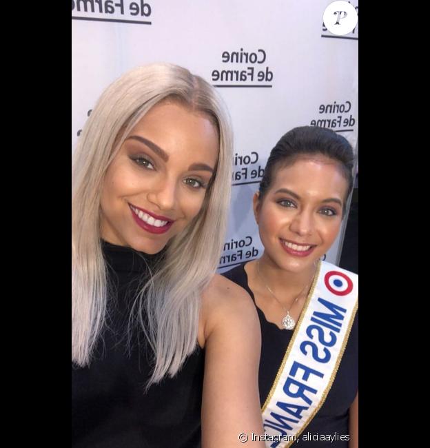Alicia Aylies et Vaimalama Chaves au gala des Bonnes Fées- 20 mars 2019.