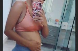 Christina Milian : Large sourire et baby bump qui pousse loin de M. Pokora