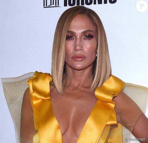 "Jennifer Lopez - Tapis Rouge du film "" Hustlers "" lors du Festival International du Film de Toronto 2019 (TIFF), Toronto, le septembre 2019."