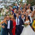 """Photo du mariage de Fanny et Christophe dans """"Les Mystères de l'amour"""""""