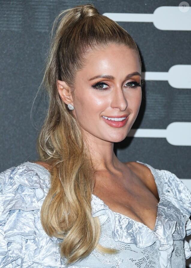 """Paris Hilton - People au 2e défilé annuel """"Savage x Fenty"""" au Barclay's Center à Brooklyn, New York, le 10 septembre 2019."""