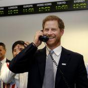 Le prince Harry joue les traders, Meghan de retour à Londres