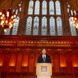 Le prince Harry, duc de Sussex, lors d'une cérémonie pour le 5ème anniversaire des Invictus Games à Londres le 10 septembre 2019.