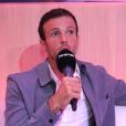 """Hugo Philip en interview pour """"Purepeople"""", le 4 septembre 2019, lors de la conférence de presse de """"Danse avec les stars 2019"""""""