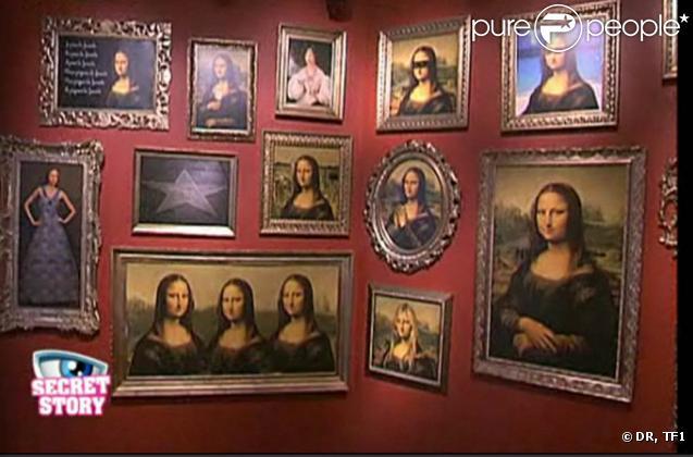 la galerie des portraits derri re chaque tableau se cache une r f rence au secret d 39 un candidat. Black Bedroom Furniture Sets. Home Design Ideas
