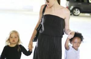 Angelina Jolie : ses filles sont déjà à la pointe de la mode tandis qu'elle... recycle ses vêtements !