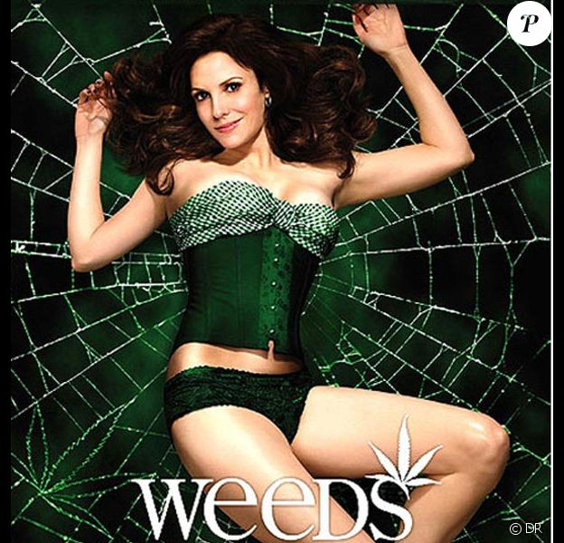 Mary-Louise Parker en promotion pour la série Weeds !