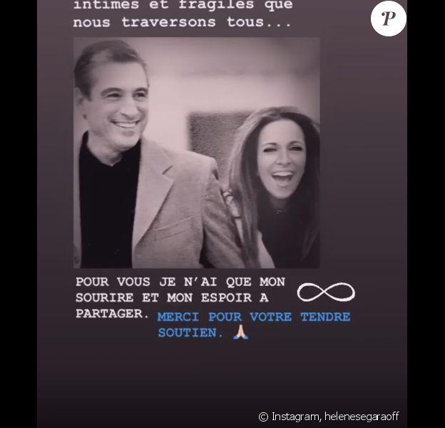 Hélène Ségara a indiqué à ses fans sur Instagram qu'elle va faire une pause après la mort de son père. Le 15 septembre 2019.