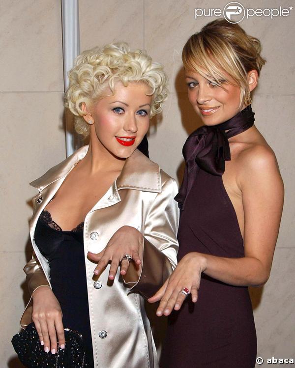 Christina Aguilera et Nicole Richie