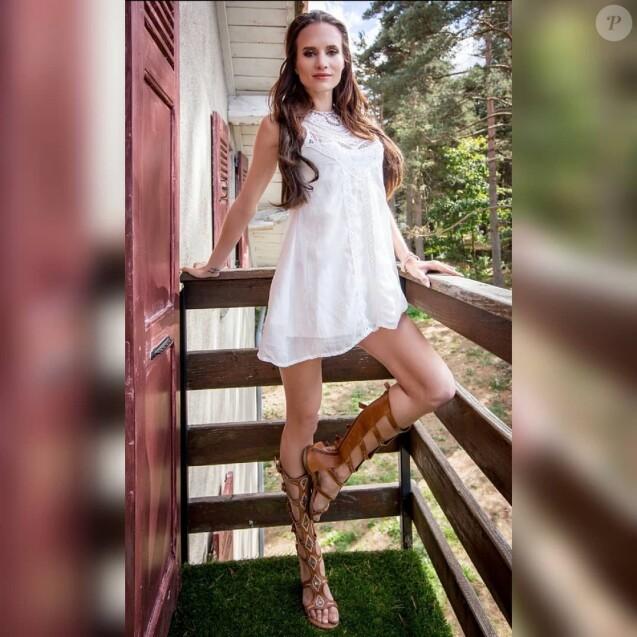 """Audrey de """"Secret Story"""" divine en robe sur Instagram, le 24 mai 2019"""