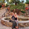 """Audrey de """"Secret Story"""" et sa maman à Las Vegas, le 20 avril 2019"""