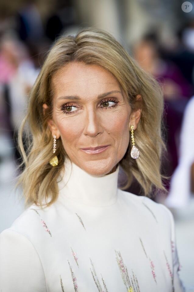 Celine Dion - Arrivées au défilé de mode Haute-Couture automne-hiver 2019/2020 Valentino à Paris le 3 juillet 2019. © JB Autissier / Panoramic / Bestimage