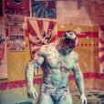 Mister Boo, après un combat dans la boue, sur Instagram, le 26 mai 2019.