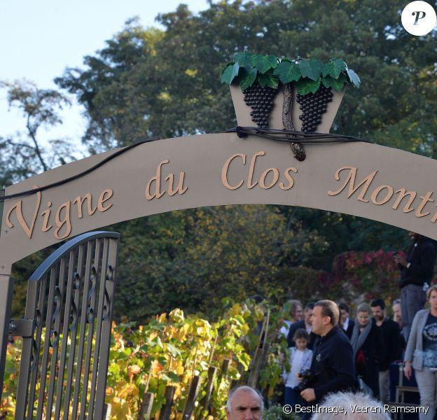 Cérémonie du Ban des Vendanges du Clos-Montmartre 201, le 14 octobre 2017 © Veeren Ramsamy / Bestimage