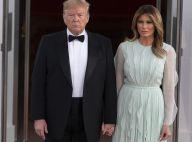 Melania Trump : Dans une robe hors de prix à la Maison Blanche