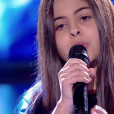 "Eva - Battles de ""The Voice Kids 2019"" sur TF1. Le 27 septembre 2019."