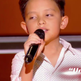 "Natihei - Battles de ""The Voice Kids 2019"" sur TF1. Le 27 septembre 2019."